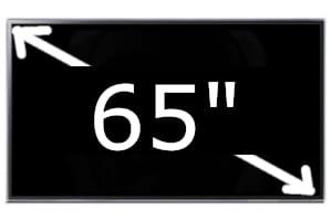 Televisores de 65 pulgadas