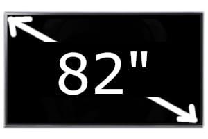 Televisores de 82 pulgadas