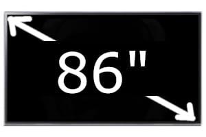 Televisores de 86 pulgadas