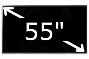 Televisores Samsung de 55 pulgadas