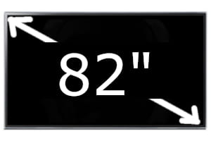 Televisores Samsung de 82 pulgadas