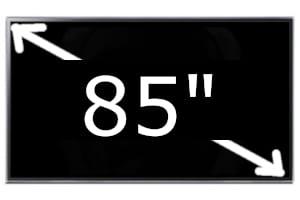 Televisores Sony de 85 pulgadas